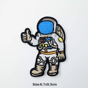 Accessories - Iron On Astronaut Space Embroidered Patch